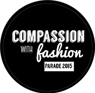 Compassion with fashion logo