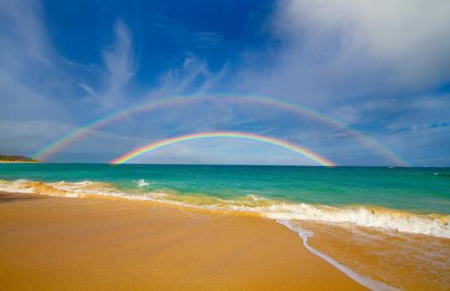double-beach-rainbow